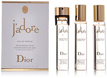 Amazon.com : Christian Dior J\'adore Eau de Parfum Spray Refill Set ...