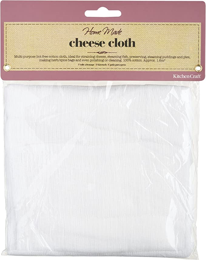Everyday Living Lint Free Cotton Cheesecloth Two Packs 4 Square Yards Each