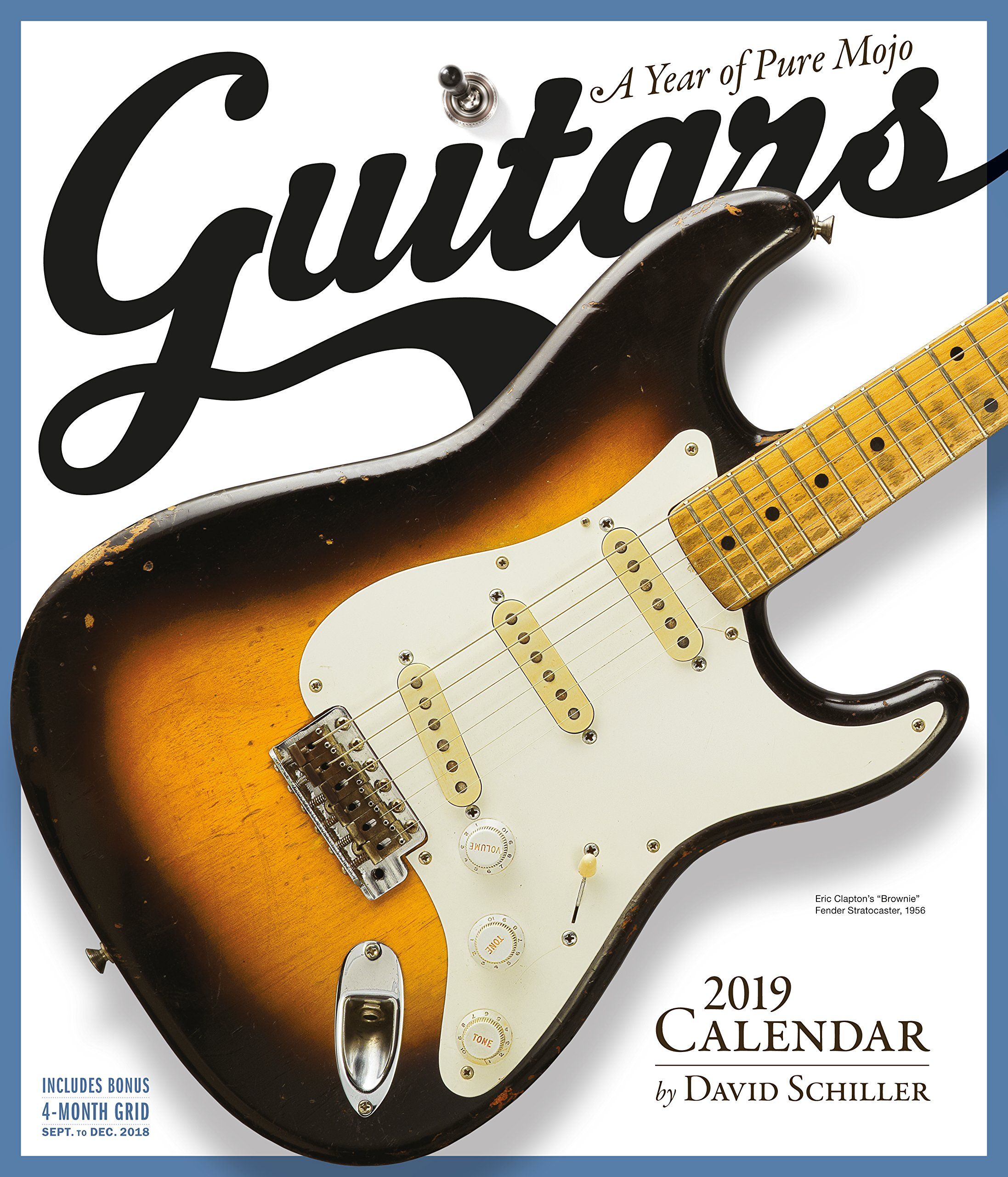 Guitars Wall Calendar 2019