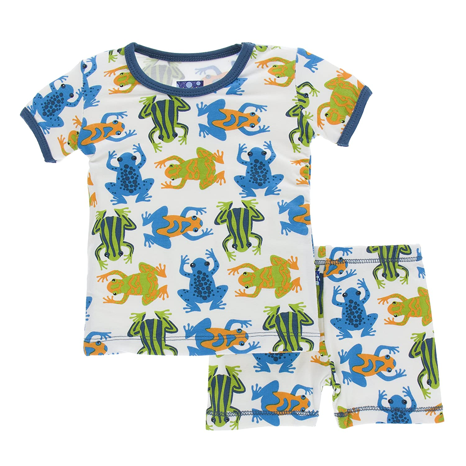 上品なスタイル Kickee Pants SLEEPWEAR Pants ベビーボーイズ SLEEPWEAR ボーイズ 18 - Amazon 24 Months Amazon Frogs B07BR6QZYW, YAMAKEI別館:61361b33 --- a0267596.xsph.ru