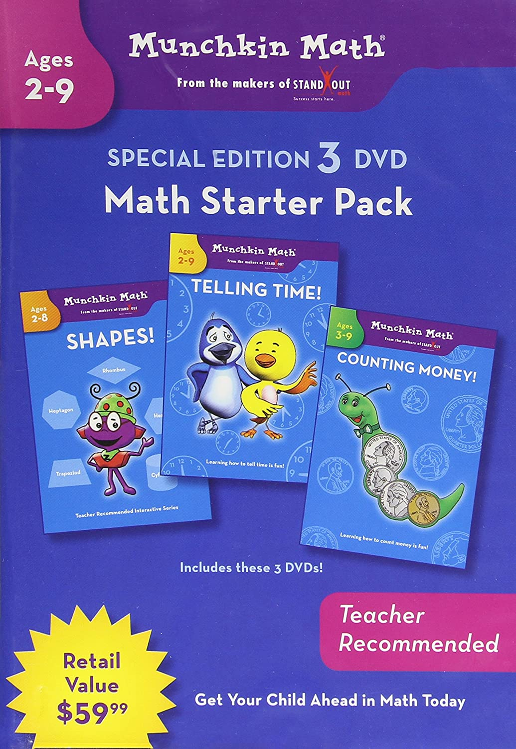 Ultimate Math: Starter Set [DVD] [Import] B002SRSP1O