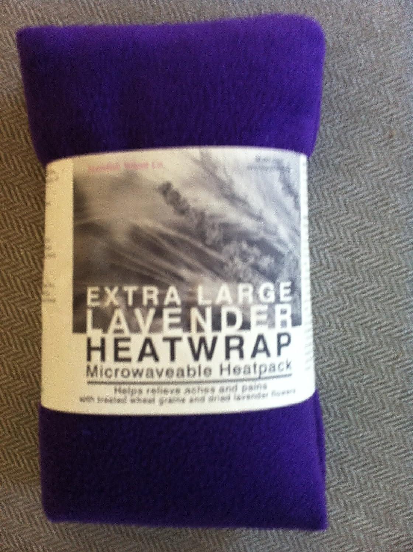 Forro polar de microondas bolsa de trigo con lavanda - violeta ...