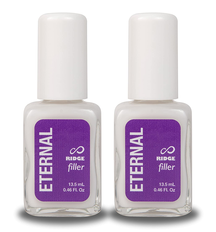 Amazon.com : Eternal Ridge Filler Gel - Clear Nail Polish Base Coat ...