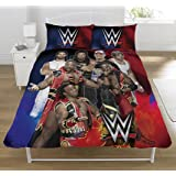 WWE Super 7 UK Double/US Full Duvet Cover and Pillowcase Set
