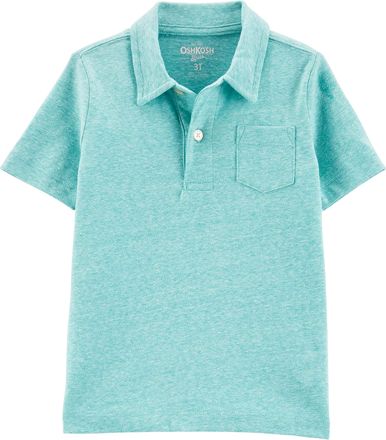 OshKosh BGosh Boys Toddler Short-Sleeve Polo Shirt