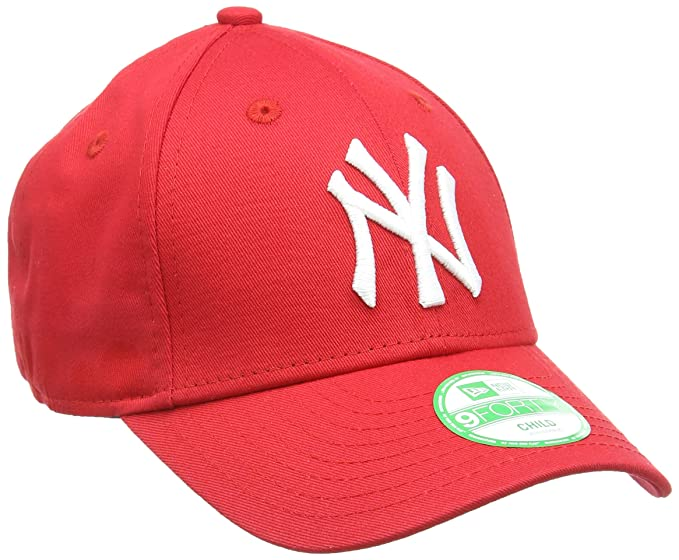New Era 9FORTY - Gorra unisex para niños, color rojo, Niño (Child ...
