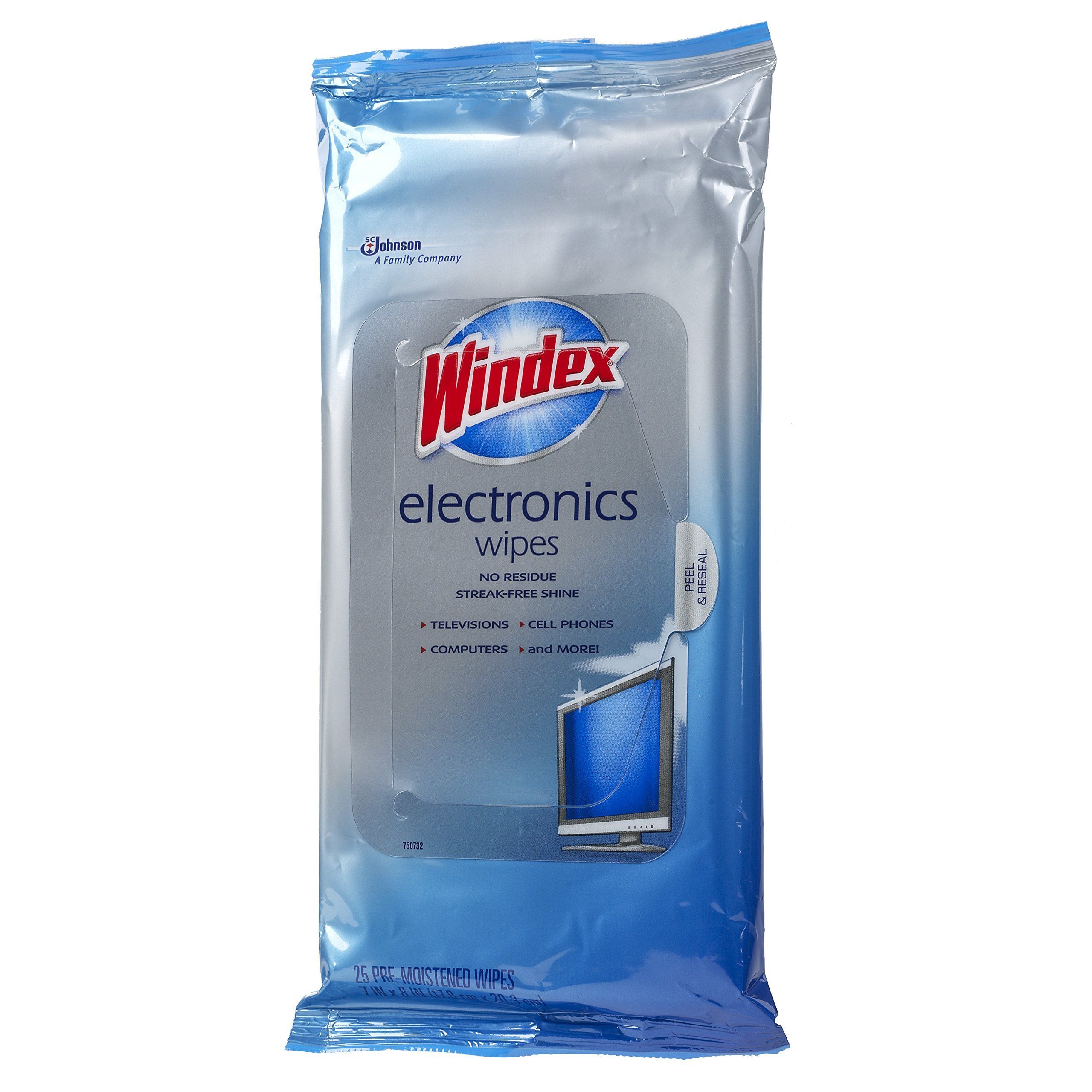 IUYEUH Electronics Wipes, 25 ct 6 Pack by Windex (Image #3)
