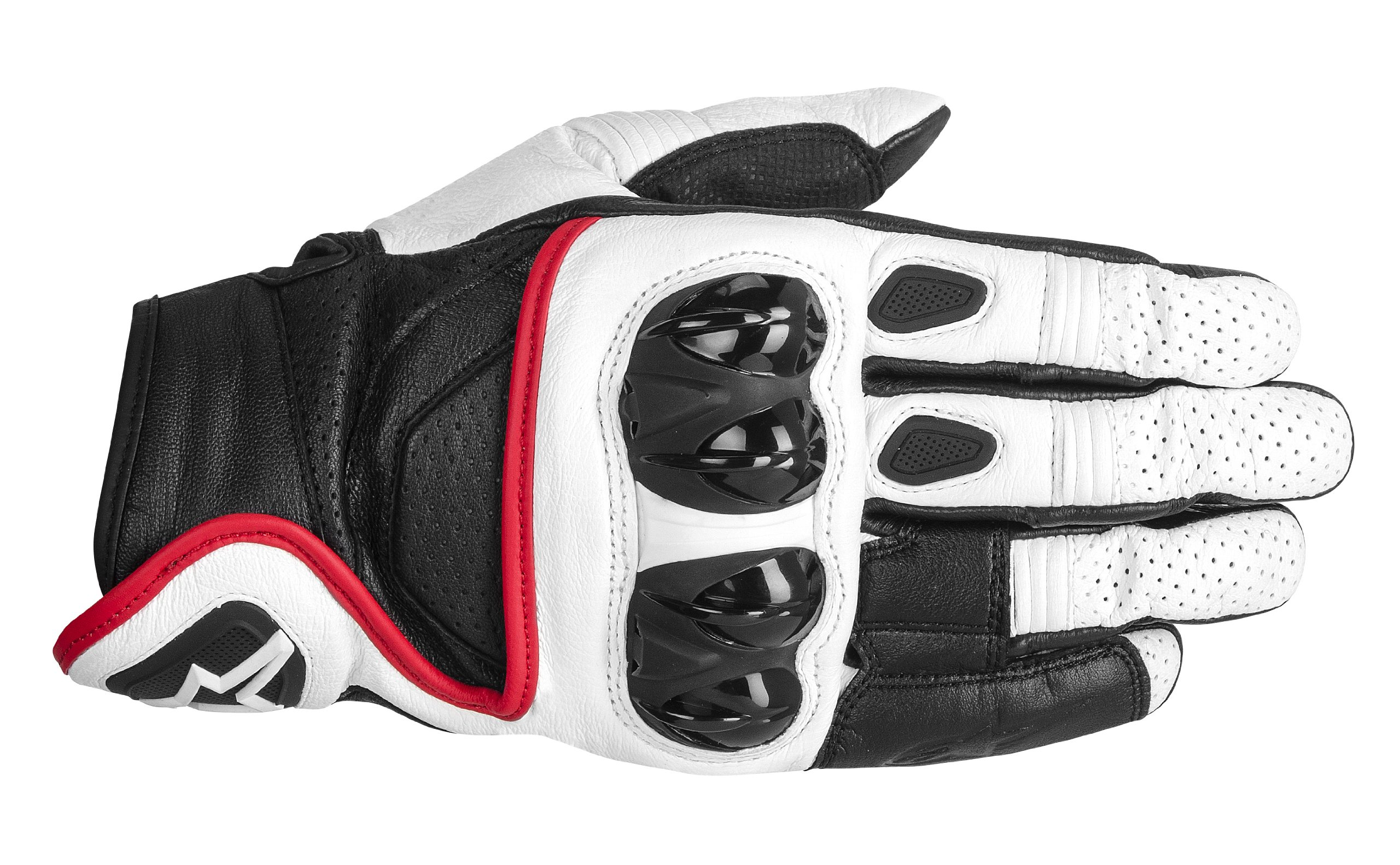 Alpinestars Celer Gloves (XX-LARGE) (WHITE/BLACK/RED)