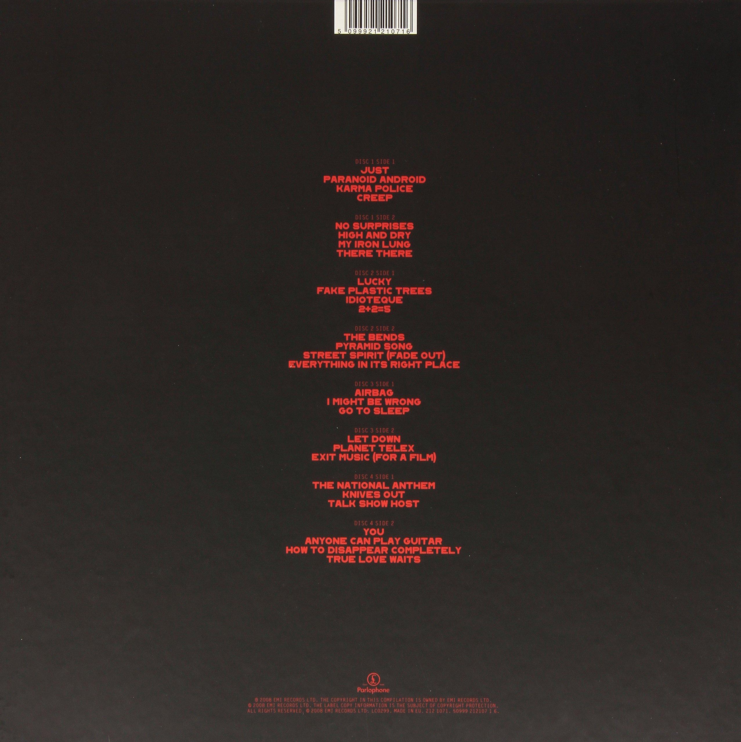 The Best Of (4 LPs) [Vinyl]