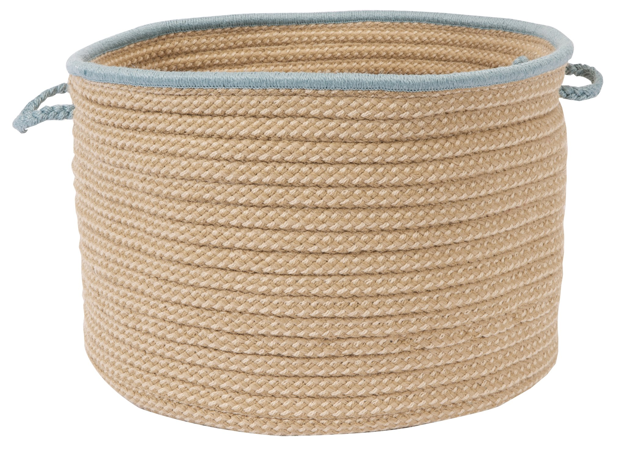 Colonial Mills Boat House Utility Basket, 18 by 12-Inch, Light Blue