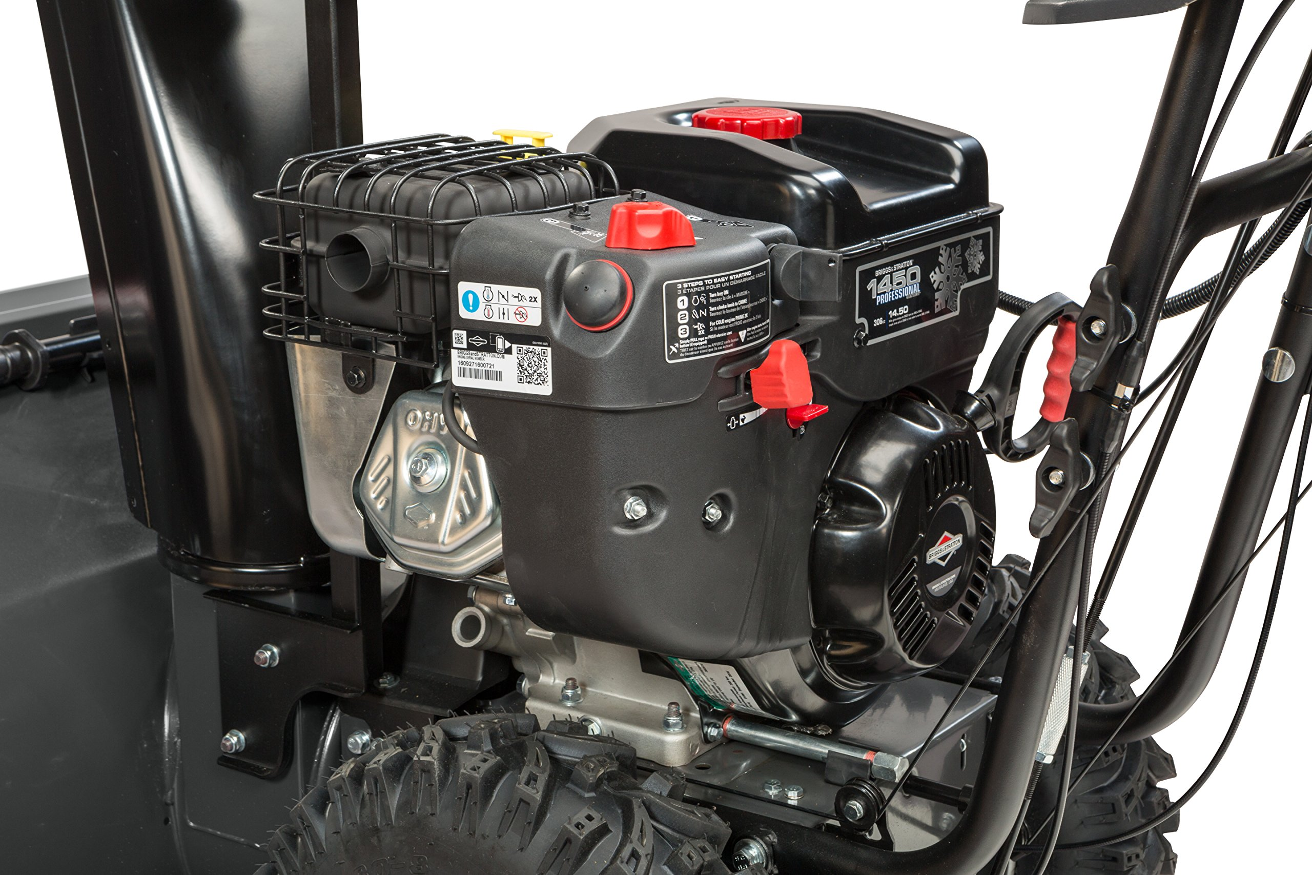 Briggs & Stratton 1530MDS Dual Stage Snowthrower Snow Thrower, 306cc by Briggs & Stratton (Image #5)