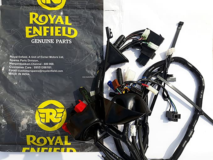 eltecon royal enfield wiring harness for classic 350, (147952 deltecon royal enfield wiring harness for classic 350, (147952 d) amazon in car \u0026 motorbike