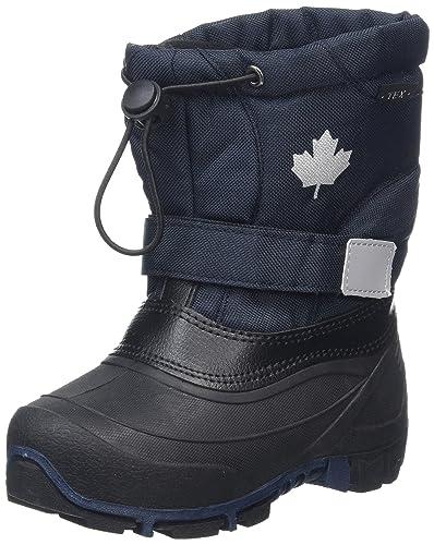 Canadians Unisex-Kinder 467 185 Schneestiefel, Blau (Navy), 38 EU
