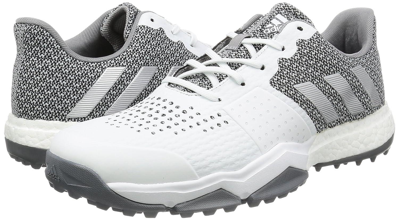 buy popular ed21e 666b2 adidas - Adipower Sport Boost 3 Mens Golf Shoes (WhiteSilverGrey)  Multi-Coloured - Size42 23 EU (8.5 UK) Amazon.co.uk Sports  Outdoors