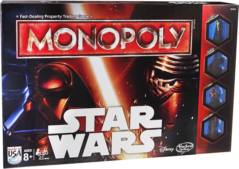 Monopoly Hasbro Edición Star Wars (versión en inglés): Amazon.es: Juguetes y juegos
