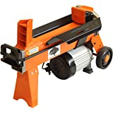 5 TON ELECTRIC LOG SPLITTER HYDRAULIC WOOD TIMBER CUTTER 2200WATT MOTOR