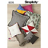 Simplicity 8225 Easy to Sew DIY Pillow Sewing