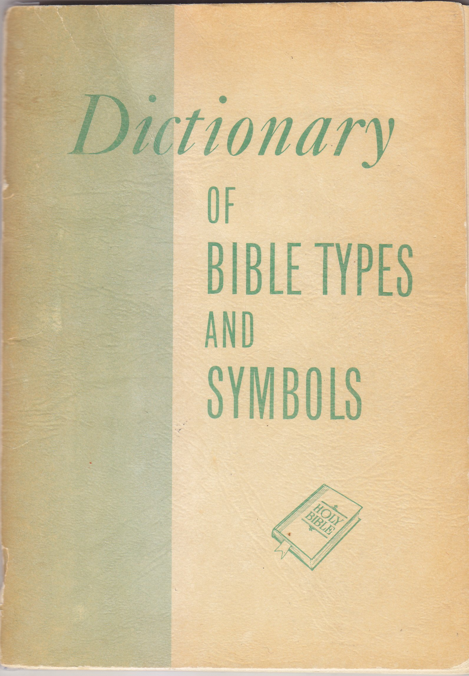Dictionary Of Bible Types And Symbols Carl C Harwood Amazon