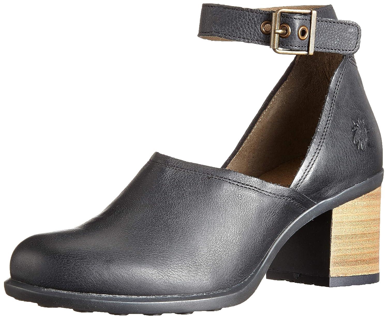 Fly London Inat422fly Zapatos con Tacon y Correa de Tobillo para Mujer