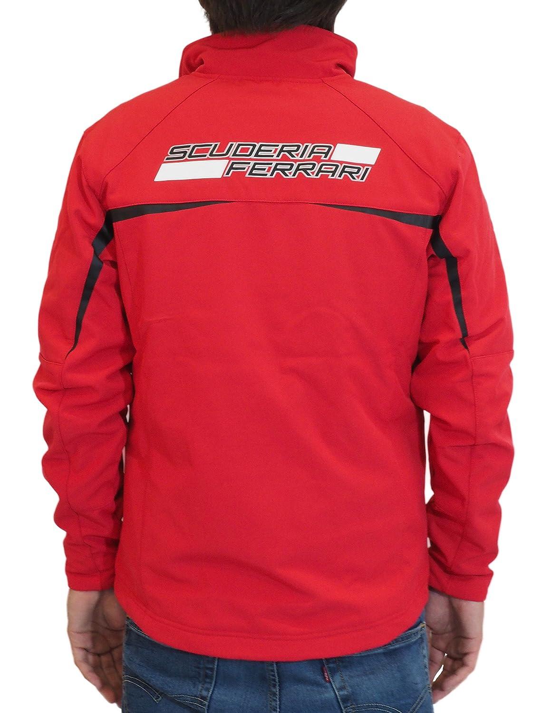 Ferrari 5100190-600-225 - Chaqueta, color rojo, talla M ...