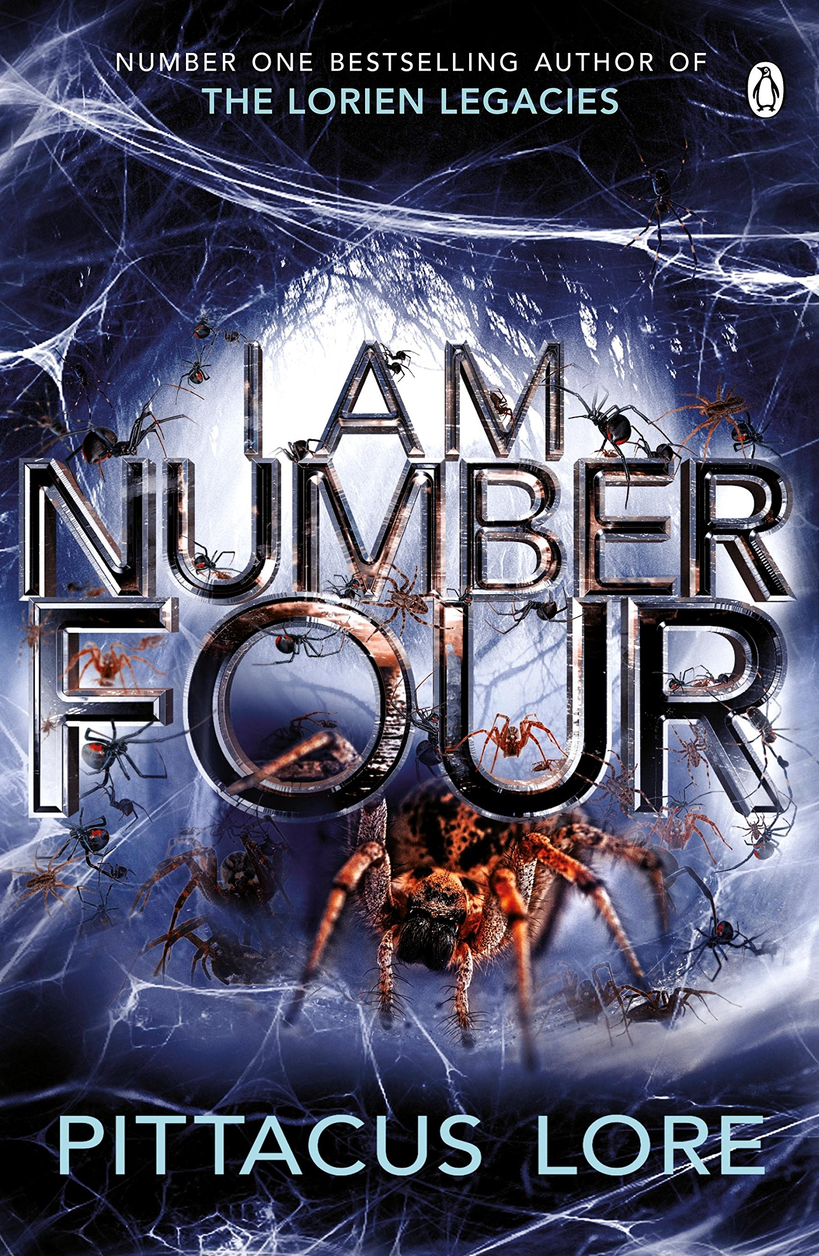 I Am Number Four by Pittacus Lore book cover