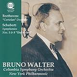 ベートーヴェン : 「コリオラン」 序曲 | シューベルト : 交響曲 第5番 & 第8番 「未完成」 (Beethoven : ''Coriolan'' Overture | Schubert : Symphonies No.5 & 8 ''Unfinished'' / Bruno Walter | Columbia Symphony Orchestra | New York Philharmonic) [CD]