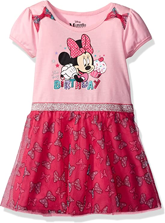 Disneyland Toddler Minnie Mouse Young Girls Birthday Party Holiday Theme Dress