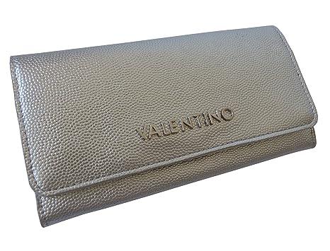Valentino VPS1R4113G Argento - Cartera para mujer Mujer plateado Plateado