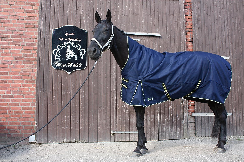 time4horses 1200Denir High Neck 100g Pferdedecke Winterdecke Paddockdecke Stalldecke Weidedecke Rug CHB-IuV