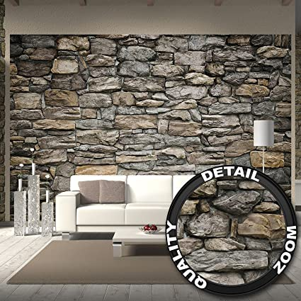 Wallpaper Grey Stonewal U2013 Wall Picture Decoration Stone Rock Optic Tapestry  Stone Pattern 1000Stones Wallpaper Stone