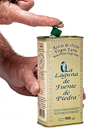 Amazon.com : La Laguna de Fuente de Piedra | Extra Virgin Olive Oil | Single Origin | Small Batch | First Cold Press | Family Estate Bottled | 100% ...