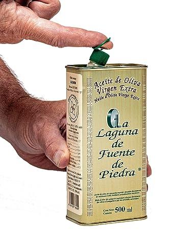 Amazon.com : La Laguna de Fuente de Piedra | Extra Virgin Olive Oil | Single Origin | Small Batch | First Cold Press | Family Estate Bottled | 100% ...