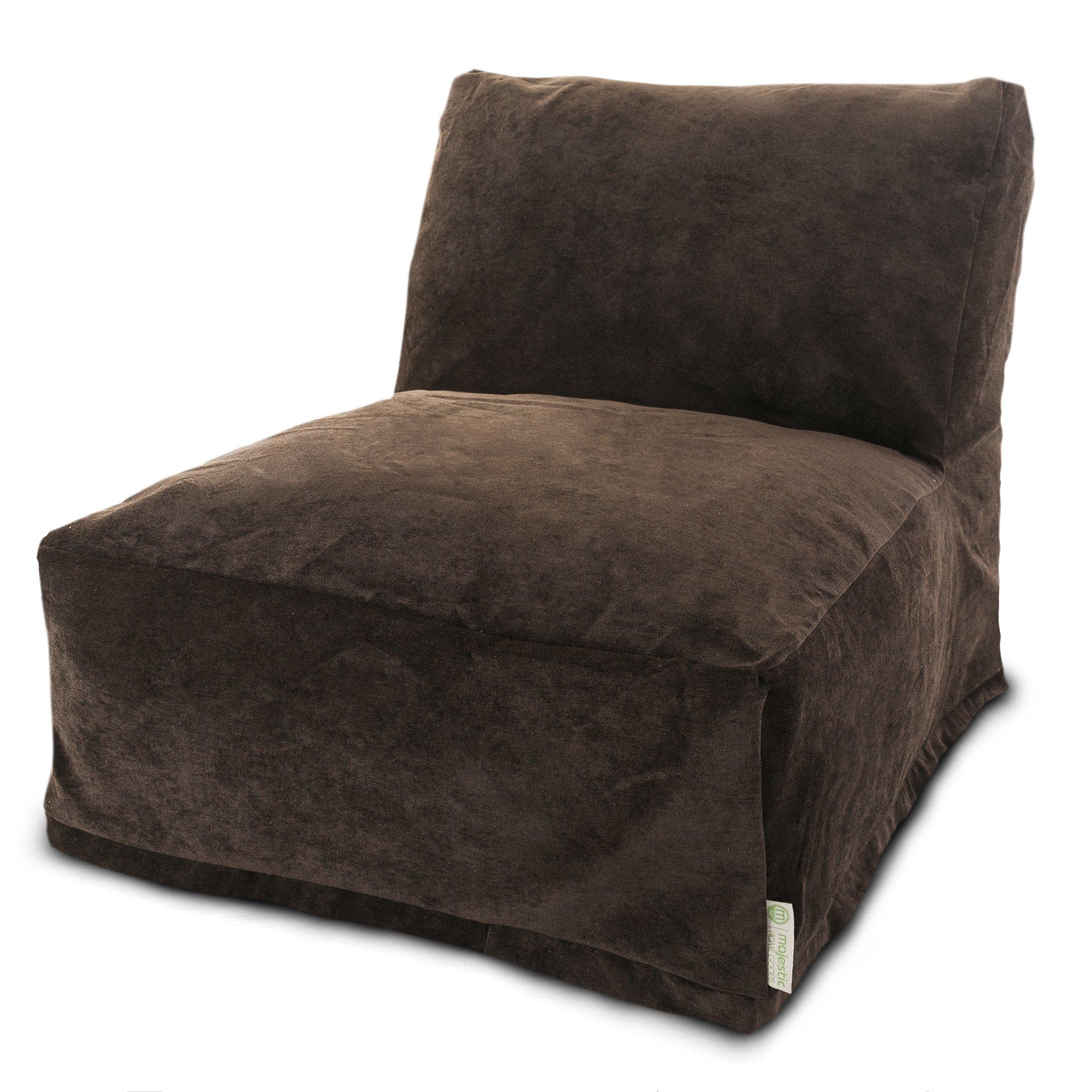 Majestic Home Goods Villa Storm Bean Bag Chair Lounger
