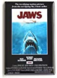 Jaws Movie Poster Fridge Magnet