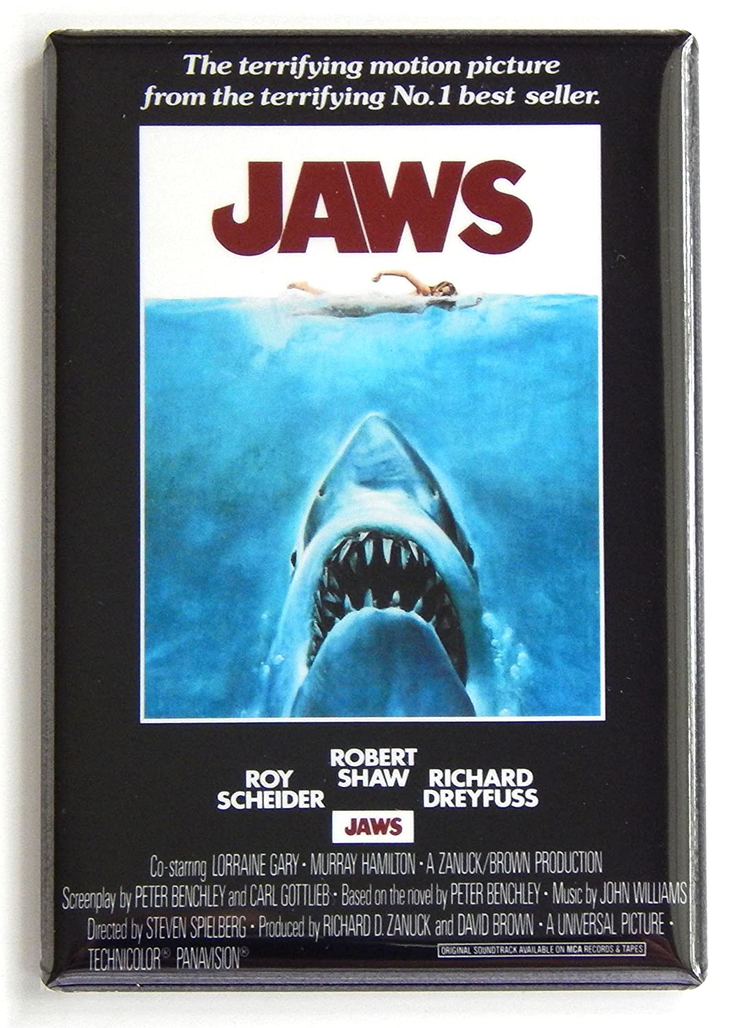 Amazon Jaws Movie Poster Fridge Magnet Refrigerator Magnets Kitchen Dining