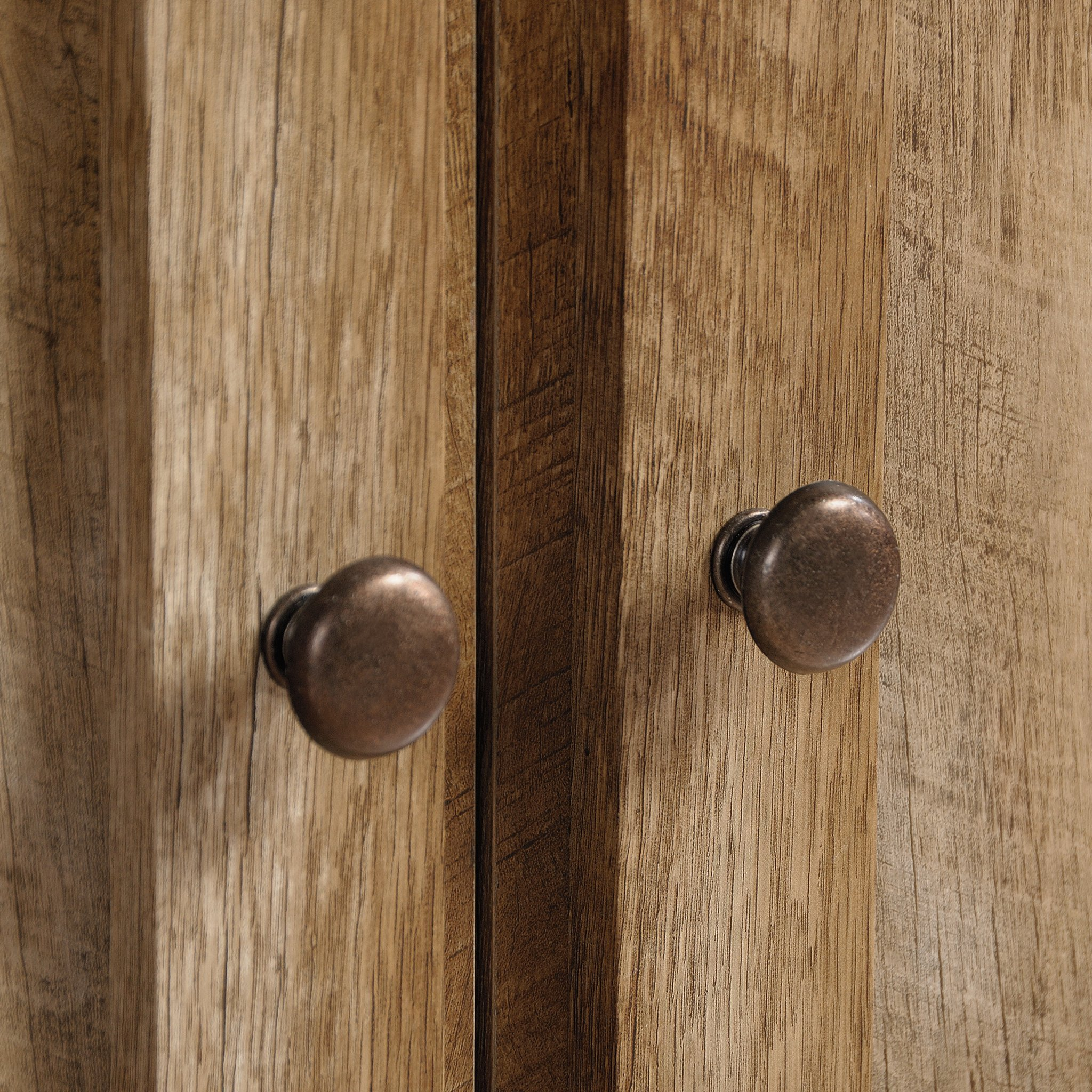 Sauder 420409 Dakota Pass Library with Doors, L: 33.82'' x W: 12.52'' x H: 71.10'', Craftsman Oak Finish by Sauder (Image #8)