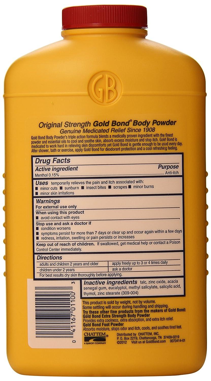 Amazon.com: Gold Bond Medicated Extra Strength Powder, 10-Ounce ...
