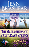 The Gallaghers of Sweetgrass Springs Boxed Set: Books 1-3 (Texas Heroes Boxed Sets Book 3)