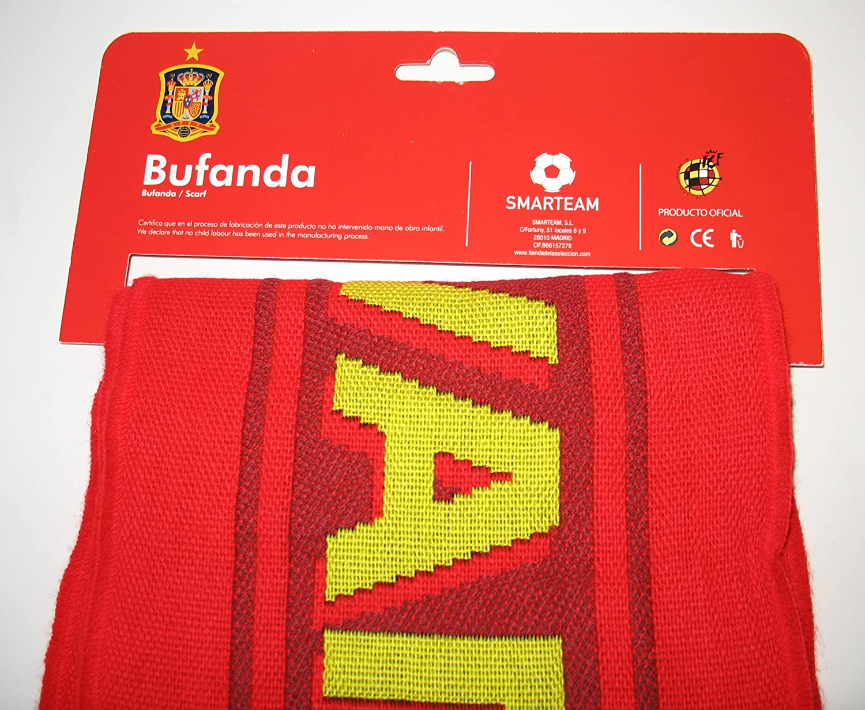Bufanda Selección Española de fútbol.: Amazon.es: Deportes y aire libre