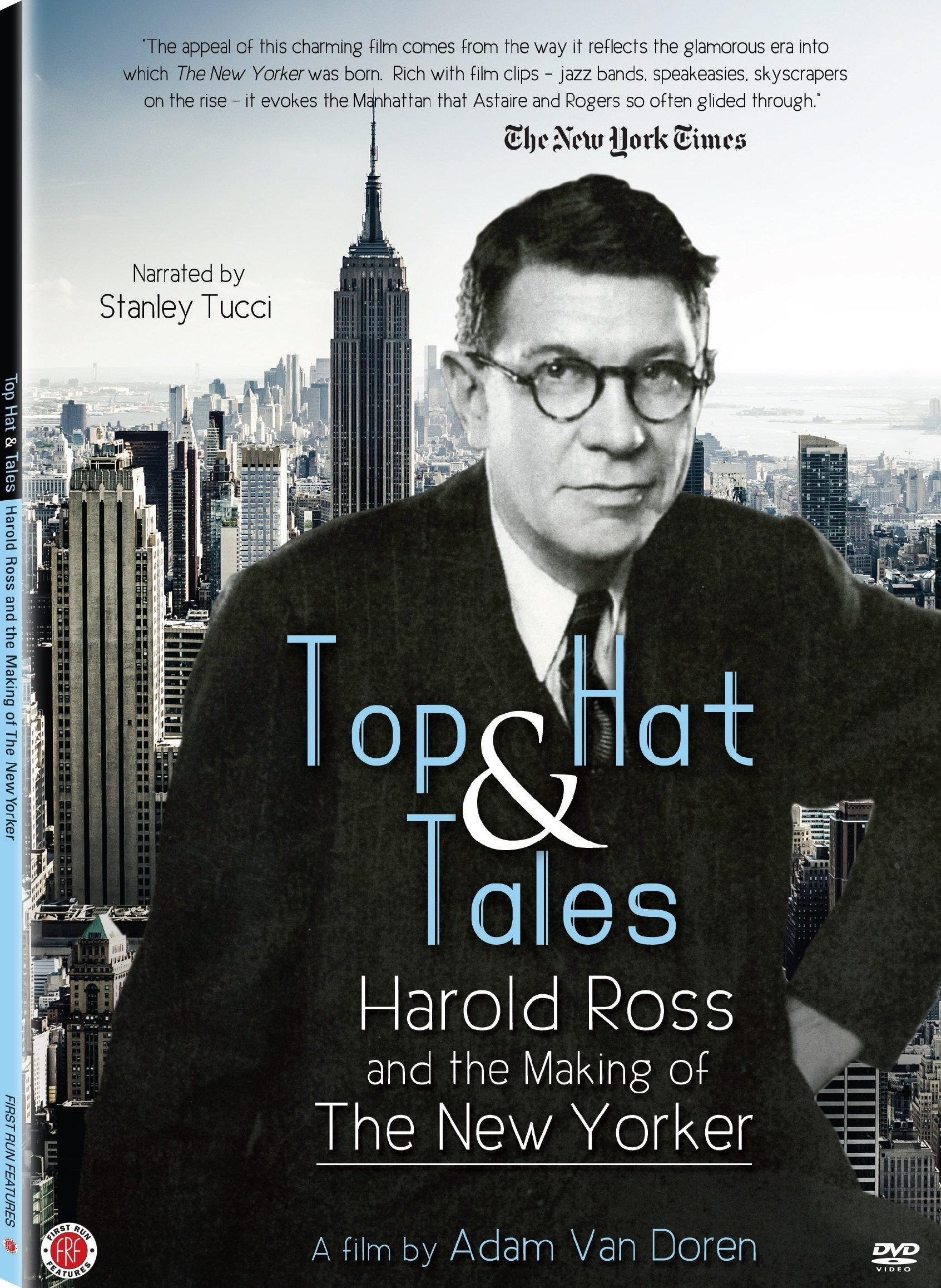 DVD : Stanley Tucci - Top Hat & Tales: Harold Ross And The Making Of The New Yorker (Full Frame)