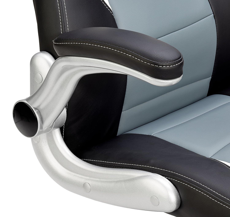 songmics chaise de bureau fauteuil de bureau si ge pu hauteur r glable obg28g achat vente. Black Bedroom Furniture Sets. Home Design Ideas