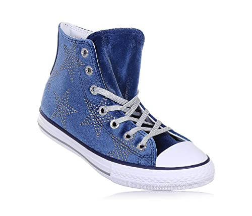 2converse all star bambino blu