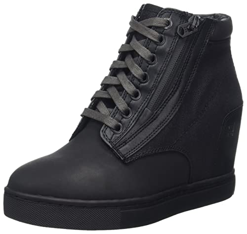 Womens Pristel Zip Wedge Hi-Top Trainers G-Star shHfdPYIDf