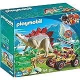 PLAYMOBIL® Explorer Vehicle with Stegosaurus...