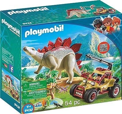 Beste Amazon.com: PLAYMOBIL® Explorer Vehicle with Stegosaurus Building MI-69