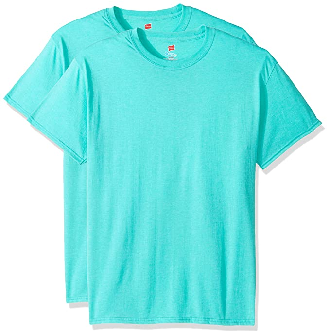 7111e7ee Hanes Men's Short Sleeve X-Temp T-Shirt with FreshIQ (Pack of 2 ...