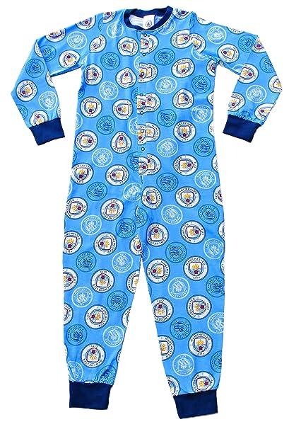 thepyjamafactory - Pijama Dos Piezas - para niño Azul Azul 7-8 Años
