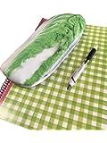 食品模型エスエヌエス 白菜 ペンケース おもしろ ポーチにも使える オシャレ 野菜 筆箱 人気 文房具 おもしろ雑貨 おもしろグッズ おもしろペンケース