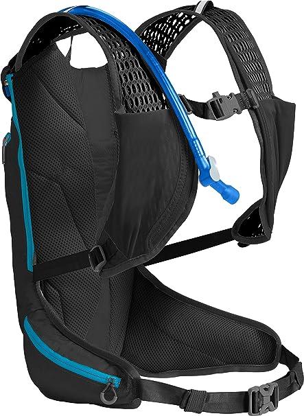 c1d600d2c1a CamelBak Octane XCT 70 Crux Reservoir Hydration Pack, Black/Atomic Blue, 2 L