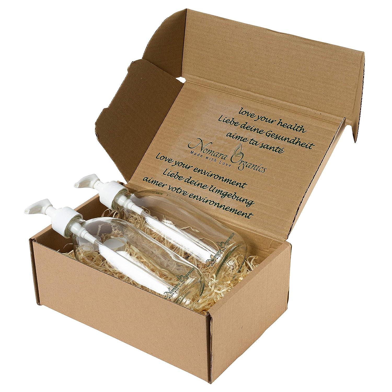 Nomara Organics® - Dispensadores de jabón para encimera, 2 x 300 ...
